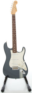 Musical Instruments:Electric Guitars, Fender Stratocaster USA John Mayer Signature Charcoal Frost SolidBody Electric Guitar, Serial #SE02165....