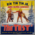 """Movie Posters:Adventure, The Test (Reliable, 1935). Six Sheet (81"""" X 81""""). Adventure.. ..."""