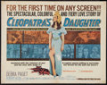 "Movie Posters:Adventure, Cleopatra's Daughter (Medallion, 1963). Half Sheet (22"" X 28"").Adventure.. ..."