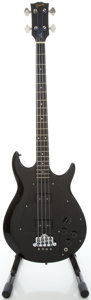 Musical Instruments:Bass Guitars, Circa 1974 Gibson Ripper Black Electric Bass Guitar, Serial #508014....