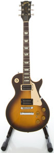 Musical Instruments:Electric Guitars, 1980 Gibson Les Paul Standard Sunburst Solid Body Electric Guitar,Serial #81400631....