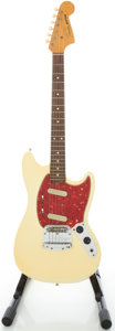 Musical Instruments:Electric Guitars, 1965 Fender Mustang Refinished Solid Body Electric Guitar, Serial#L83494....