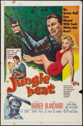 "Movie Posters:Adventure, Jungle Heat (United Artists, 1957). One Sheet (27"" X 41"").Adventure.. ..."