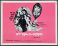 "Movie Posters:Horror, Simon, King of the Witches (Fanfare, 1971). Half Sheet (22"" X 28""). Horror.. ..."