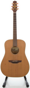 Musical Instruments:Acoustic Guitars, 2004 Takamine AN10 Natural Acoustic Guitar, Serial #04020450....