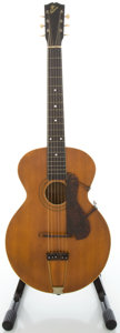Musical Instruments:Acoustic Guitars, Circa 1917 Gibson L-1 Natural Archtop Acoustic Guitar, Serial#35115....