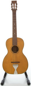 Musical Instruments:Acoustic Guitars, 1900's No-Name Parlor Natural Acoustic Guitar...
