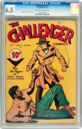 Golden Age (1938-1955):Adventure, Challenger #3 (Interfaith Committee, 1946) CGC FN+ 6.5 Off-white to white pages....