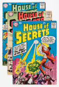 Silver Age (1956-1969):Mystery, House of Secrets Group (DC, 1958-72) Condition: Average GD/VG....(Total: 11 Comic Books)