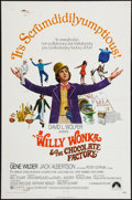 """Movie Posters:Fantasy, Willy Wonka & the Chocolate Factory (Paramount, 1971). One Sheet (27"""" X 41""""). Fantasy.. ..."""