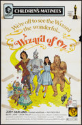 "Movie Posters:Fantasy, The Wizard of Oz (MGM, R-1972). One Sheet (27"" X 41"") Children'sMatinee Style. Fantasy.. ..."