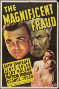 """Movie Posters:Drama, The Magnificent Fraud (Paramount, 1939). One Sheet (27"""" X 41""""). Drama.. ..."""