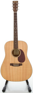 Musical Instruments:Acoustic Guitars, 2001 Martin DM Natural Acoustic Guitar, Serial #831775....