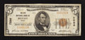 National Bank Notes:Maine, Belfast, ME - $5 1929 Ty. 1 The City NB Ch. # 7586. ...