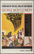"Movie Posters:War, The Steel Claw (Warner Brothers, 1961). One Sheet (27"" X 41"").War.. ..."