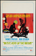 "Movie Posters:Academy Award Winners, In the Heat of the Night (United Artists, 1967). Window Card (14"" X22""). Academy Award Winners.. ..."