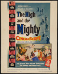 "Movie Posters:Adventure, The High and the Mighty (Warner Brothers, 1954). Window Card (14"" X18""). Adventure.. ..."