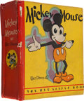 Platinum Age (1897-1937):Miscellaneous, Big Little Book #717 Mickey Mouse (Whitman, 1933) Condition: Apparent VG....