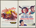 """Movie Posters:War, The Train and Other Lot (United Artists, 1965). Window Cards (2)(14"""" X 22""""). War.. ... (Total: 2 Items)"""