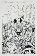 Original Comic Art:Covers, Bryan Hitch What If (...Wolverine Had Remained a Captiveof Alpha Flight?) #59 Cover Original Art (Mar...