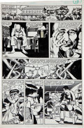 Original Comic Art:Panel Pages, Frank Miller and Klaus Janson The Amazing Spider-Man Annual#15 Doctor Octopus vs. the Punisher Page #14 Original ...