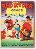 Golden Age (1938-1955):Western, Red Ryder Comics Bound Volumes (Dell, 1942-46).... (Total: 4 ComicBooks)