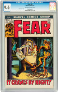 Bronze Age (1970-1979):Horror, Fear #8 (Marvel, 1972) CGC NM+ 9.6 Off-white to white pages....