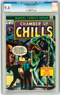 Bronze Age (1970-1979):Horror, Chamber of Chills #10 (Marvel, 1974) CGC NM+ 9.6 Cream to off-whitepages....
