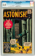Silver Age (1956-1969):Horror, Tales to Astonish #1 (Marvel, 1959) CGC GD/VG 3.0 Cream tooff-white pages....