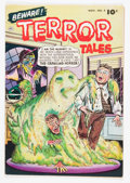 Golden Age (1938-1955):Horror, Beware Terror Tales #4 (Fawcett, 1952) Condition: FN+....