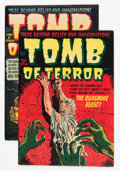 Golden Age (1938-1955):Horror, Tomb of Terror #2 and 4 Group (Harvey, 1952).... (Total: 2 Comic Books)