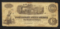 Confederate Notes:1862 Issues, T40 $100 1862.. ...