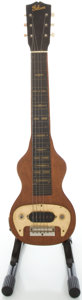 Musical Instruments:Lap Steel Guitars, 1946 Gibson BR-6 Refinished Lap Steel Guitar...