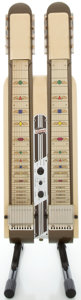 Musical Instruments:Lap Steel Guitars, 1947 National Double Neck Table Cream Lap Steel Guitar, Serial#V6365....