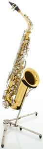 Musical Instruments:Horns & Wind Instruments, King Cleveland 613 Brass Alto Saxophone, Serial #770223....