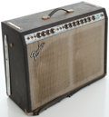 Musical Instruments:Amplifiers, PA, & Effects, 1970's Fender Twin Reverb Silverface Guitar Amplifier, Serial#A970088....