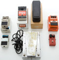 Musical Instruments:Amplifiers, PA, & Effects, Vintage Effect Pedals: Electro-Harmonix, DOD, MXR, Boss, Morley... (Total: 7 Items)