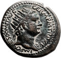 Ancients:Judaea, Ancients: Domitian (AD 81 - 96). AE (28m, 16.19 gm, 1h). ...