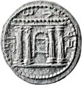 Ancients:Judaea, Ancients: Bar Kokhba Revolt (132 - 135 AD). AR sela (25mm, 14.78gm, 12h)....