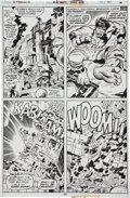 Original Comic Art:Panel Pages, Jack Kirby and Mike Royer Eternals #15 Cosmic Hulk Page 30Original Art (Marvel, 1977)....