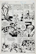 Original Comic Art:Panel Pages, Jack Kirby and Paul Reinman X-Men #5 Surprise Attack onAsteroid M Page 18 Original Art (Marvel, 1964)....