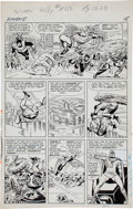 Original Comic Art:Panel Pages, Jack Kirby and Paul Reinman X-Men #5 Magneto's Arrival Page13 Original Art (Marvel, 1964)....