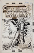 Original Comic Art:Covers, Luis Dominguez Weird Mystery Tales #19 Cover Original Art(DC, 1975)....