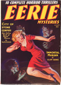 Pulps:Detective, Eerie Mysteries V1#1 (Magazine Publishers Inc., 1938) Condition: FN-....