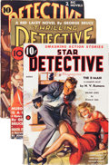 Pulps:Detective, Assorted Detective Pulps Group (Various, 1937-38) Condition: Average FN-.... (Total: 3 )