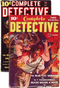 Pulps:Detective, Complete Detective #1 and 2 Group (Red Circle, 1938) Condition: Average FN-.... (Total: 2 )