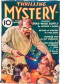 Pulps:Horror, Thrilling Mystery #1 (Standard, 1935) Condition: VG/FN....