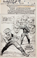 Original Comic Art:Splash Pages, Larry Lieber and Carl Hubbell The Rawhide Kid #49Splash Page 1 Original Art (Marvel, 1965)....