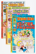 Bronze Age (1970-1979):Cartoon Character, Richie Rich and His Girlfriends #1-16 File Copy Group (Harvey, 1979-82) Condition: Average NM-.... (Total: 48 Comic Books)