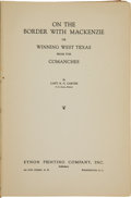Books:Americana & American History, Two Accounts of Army Life in Texas including:... (Total: 2 Items)